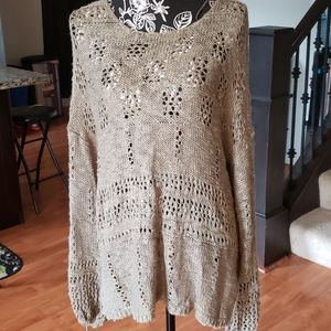 American Rag Knitted Pullover top. XL